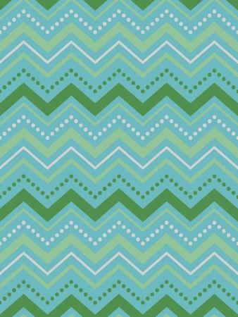 Chevron Gift Wrap-Joanne Paynter Design-Giclee Print