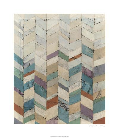 Chevron Overlay I-Megan Meagher-Limited Edition