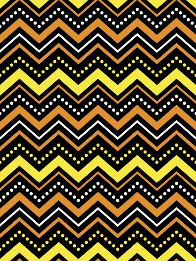 Chevron Spook-Joanne Paynter Design-Giclee Print