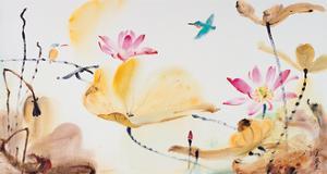 Autumn Lotus by Chi Wen