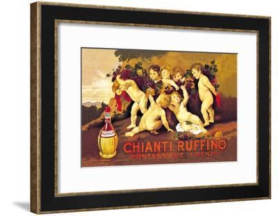 Chianti Ruffino-Leopoldo Metlicovitz-Framed Art Print