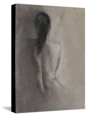 Chiaroscuro Figure Drawing II-Ethan Harper-Stretched Canvas Print