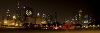 Chicago Black Hawks Skyline-Patrick Warneka-Photographic Print