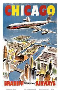 Chicago - Braniff International Airways