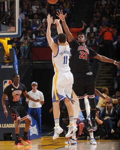 Chicago Bulls v Golden State Warriors-Noah Graham-Photo
