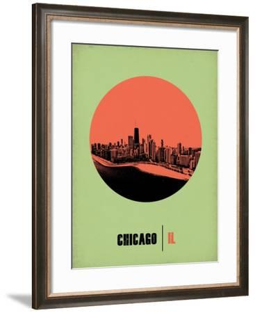 Chicago Circle Poster 2-NaxArt-Framed Art Print