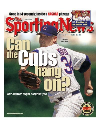 Chicago Cubs P Kerry Wood - July 30, 2001--Photo