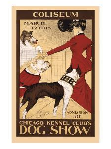 Chicago Dog Show Poster