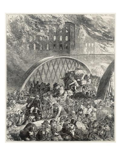 Chicago Fire 1872--Giclee Print