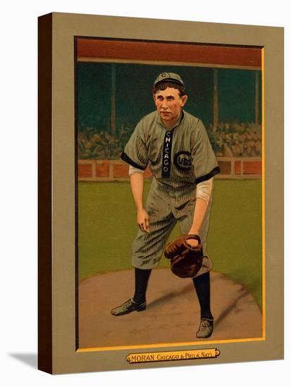 Chicago Il Chicago Cubs Pat Moran Baseball Card Art Print By Lantern Press Artcom
