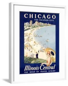 Chicago Illinois Central Train