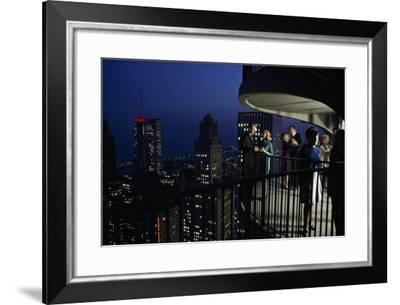 Chicago, Illinois, Fifty-Two Stories High, City Noises Fade and Vistas Expand-James L. Stanfield-Framed Photographic Print