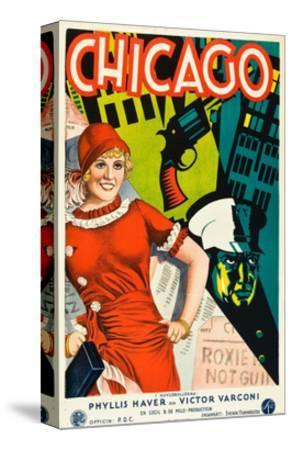 Chicago, Phyllis Haver on Swedish Poster Art, 1927