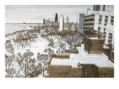 Chicago's Lincoln Park-Mark McMahon-Giclee Print