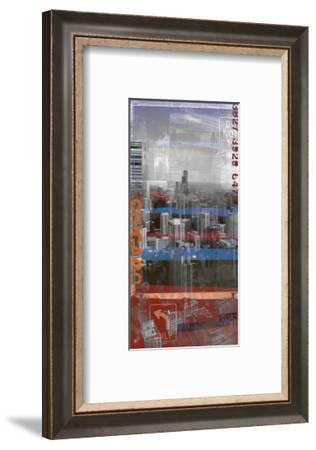 Chicago Sky 1-Sven Pfrommer-Framed Art Print