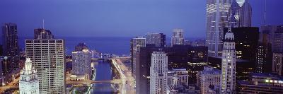 Chicago Skyline II-Bob Stefko-Photographic Print