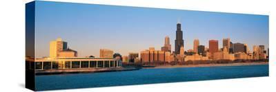 Chicago Skyline IV--Stretched Canvas Print