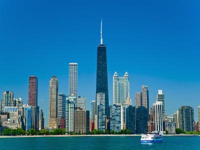 Chicago skyline-Bob Krist-Photographic Print