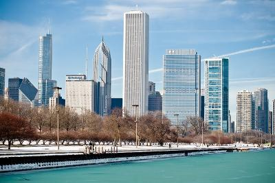Chicago Skyline-George Imrie Photography-Photographic Print