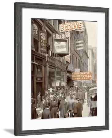 Chicago State Street--Framed Photographic Print