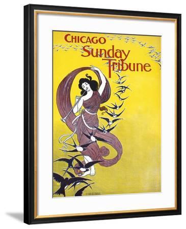 Chicago Sunday Tribune--Framed Art Print