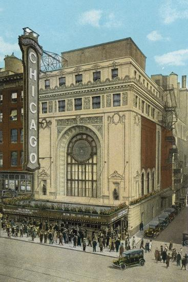 Chicago Theatre--Photographic Print