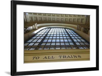 Chicago Union Station.-Jon Hicks-Framed Photographic Print