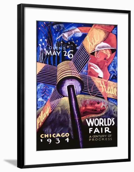 Chicago World's Fair, 1934-Sandor-Framed Giclee Print