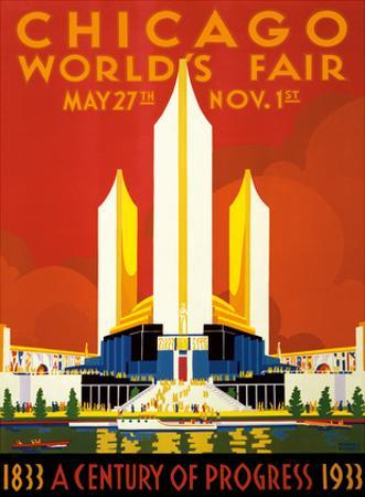 Chicago World's Fair - A Century of Progress, 1833-1933