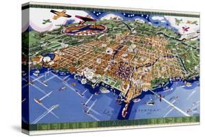 Chicago World's Fair Map