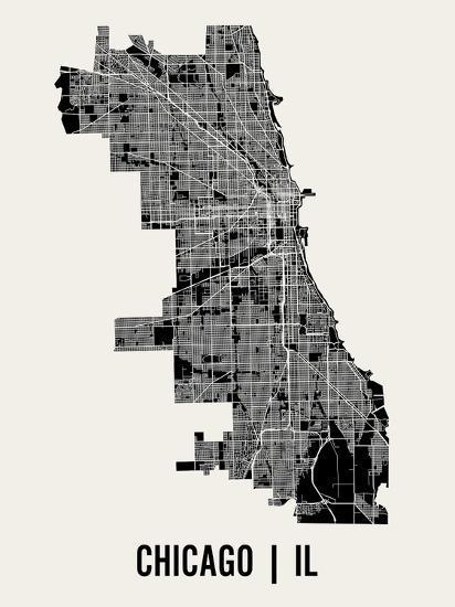 Chicago-Mr City Printing-Art Print
