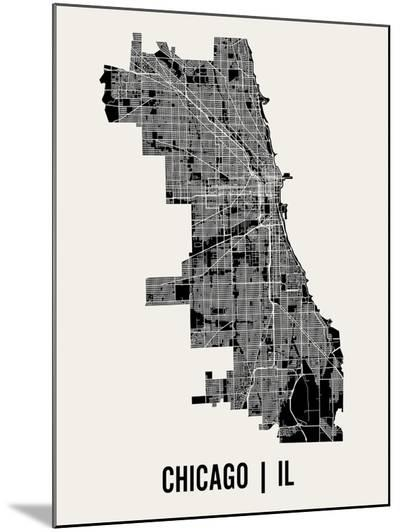 Chicago-Mr City Printing-Mounted Print