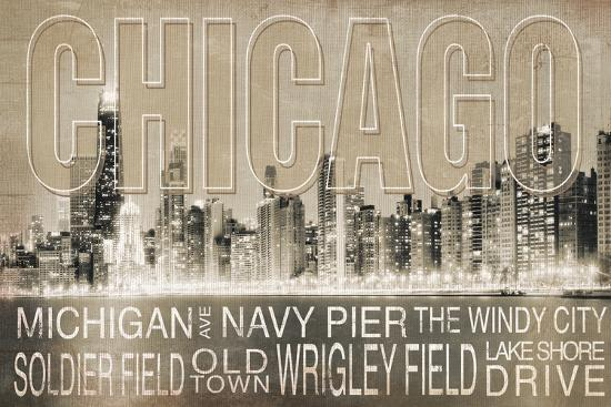 Chicago-Jennifer Pugh-Art Print