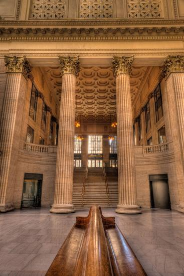Chicagos Union Station Waiting Hall-Steve Gadomski-Photographic Print