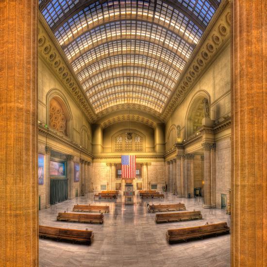 Chicagos Union Station-Steve Gadomski-Photographic Print