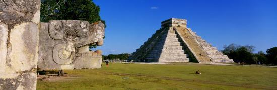 Chichen Itza, Yucatan, Mexico--Photographic Print