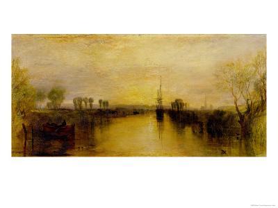 Chichester Canal, circa 1829-J^ M^ W^ Turner-Giclee Print