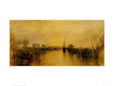 Chichester Canal-J^ M^ W^ Turner-Art Print