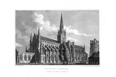 Chichester Cathedral, Chichester, West Sussex, 1829--Giclee Print