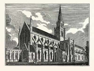 Chichester Cathedral, UK--Giclee Print