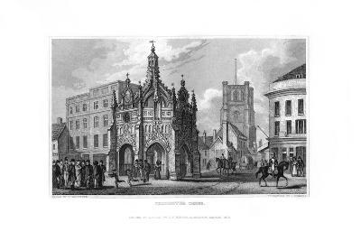 Chichester Cross, Chichester, West Sussex, 1829-J Rogers-Giclee Print