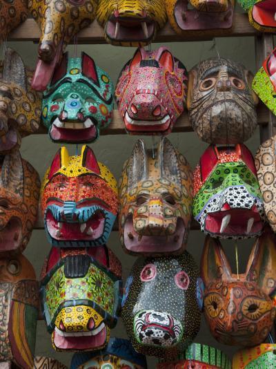 Chichicastenango Market, Guatemala, Central America-Sergio Pitamitz-Photographic Print