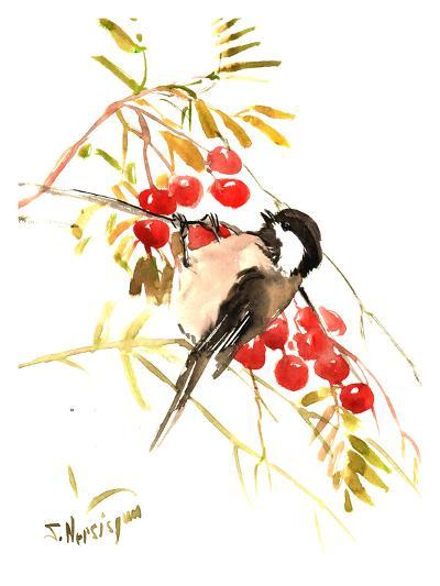Chickadee 12-Suren Nersisyan-Art Print