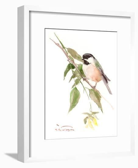 Chickadee 2-Suren Nersisyan-Framed Art Print