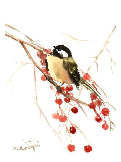 Chickadee 7-Suren Nersisyan-Art Print