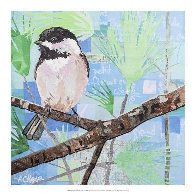 Chickadee Collage I-Alyson Champ-Art Print