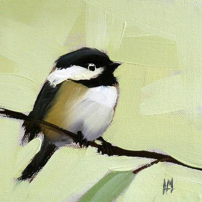 Chickadee No. 143-Angela Moulton-Art Print