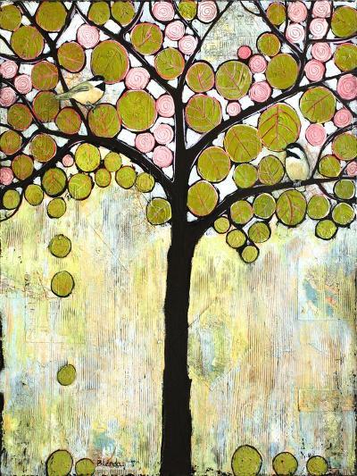Chickadee Tree 1-Blenda Tyvoll-Giclee Print