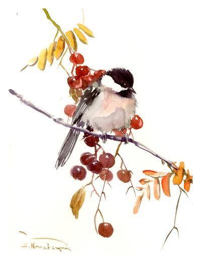 Chickadee-Suren Nersisyan-Art Print