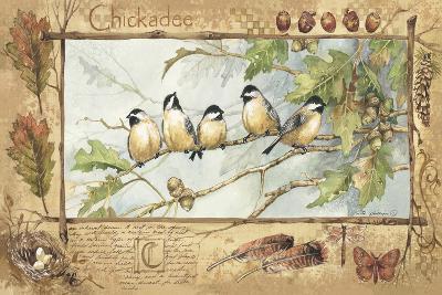 Chickadee-Anita Phillips-Art Print